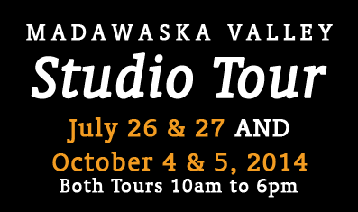 22nd Annual Madawaska Valley Studio Tour Oct 5 & 6, 2012.